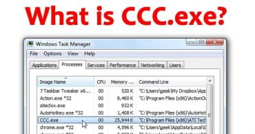 What Is CCC.exe And Why Is It Running On My PC