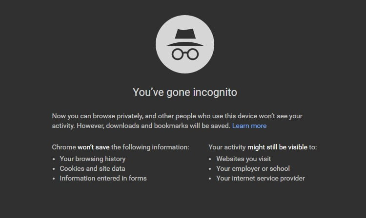 Here's Why You Should Never Watch Porn In Incognito Mode