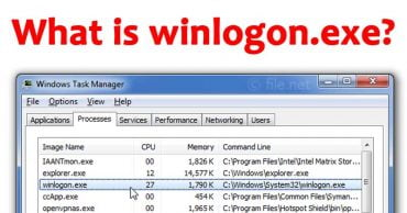 What is winlogon.exe And Why is it Running on My PC?