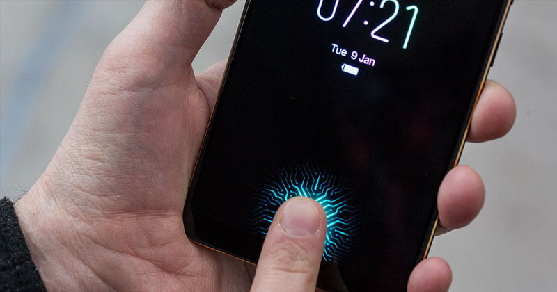 Meet The World's First Phone With Fingerprint Sensor Under The Screen