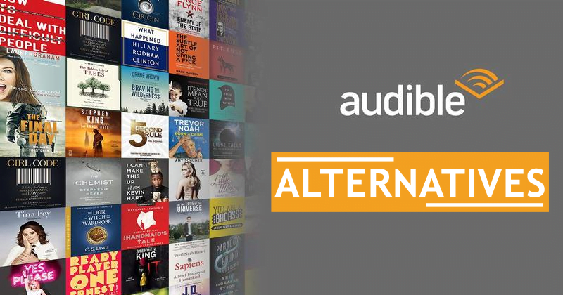 15 Best Audible Alternatives For Audiobooks