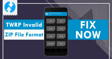 Fix TWRP Invalid Zip File Format Issue
