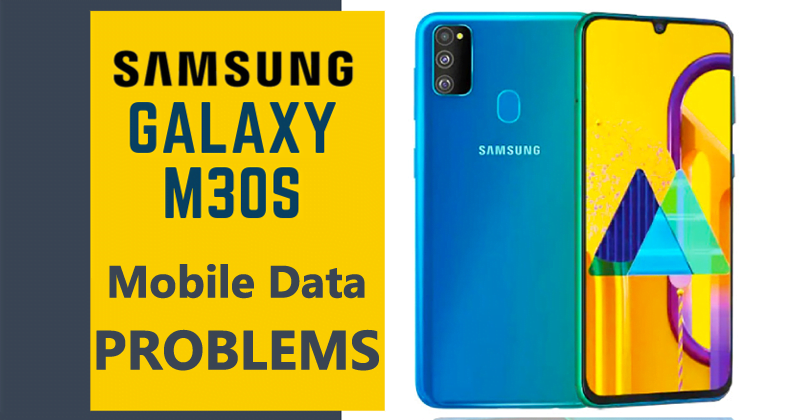 How To Fix Samsung Galaxy M30s Mobile Data Not Working Problem 4