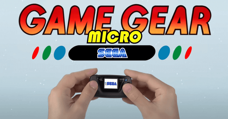 Sega Is Releasing A Ridiculously Tiny Game Gear Micro